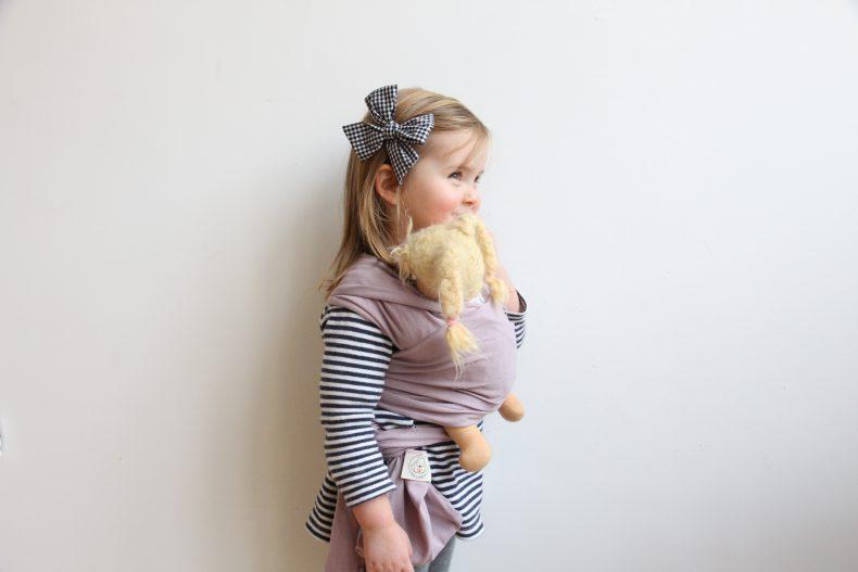 Puppentragetuch für Mädchen