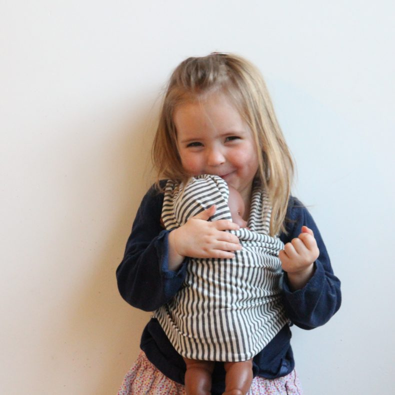 Puppentragetuch für Kleinkinder