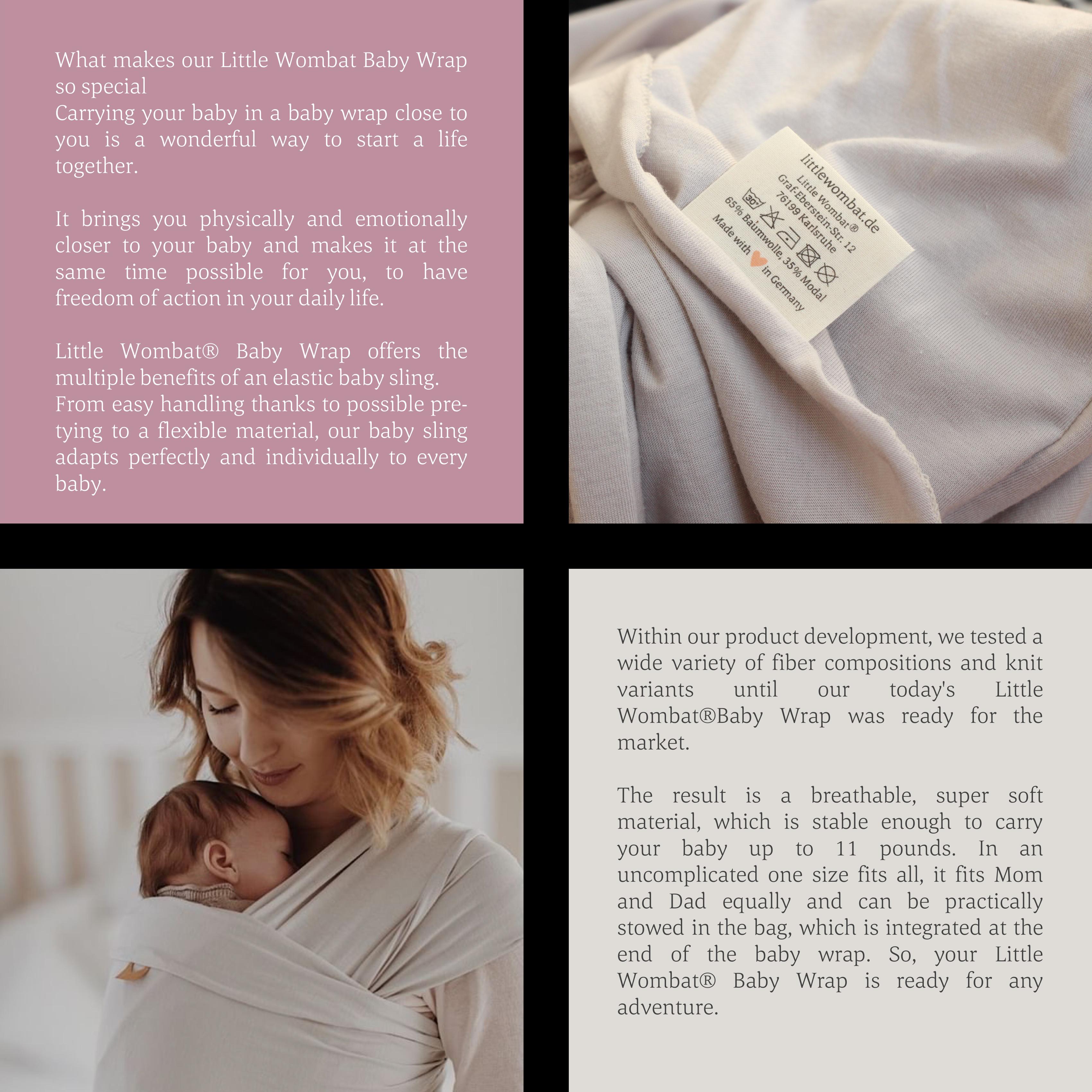 Baby Wraps - how we produce